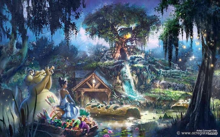 Disneyland and Disney World to remake Splash Mountain with 'Princess and the Frog' theme
