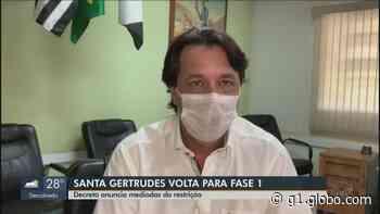 Coronavírus: Santa Gertrudes anuncia fechamento do comércio a partir de quinta-feira (25) - G1