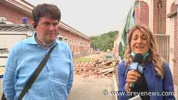 """Crollo Albizzate, il sindaco: """"Ho lasciato passare la donna prima di me, sono vivo per miracolo"""" - brevenews."""