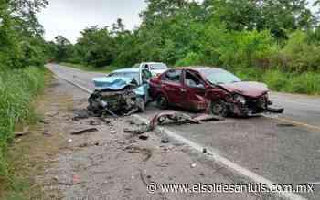 Un muerto y tres heridos en accidente en la Valles-Tamazunchale - El Sol de San Luis