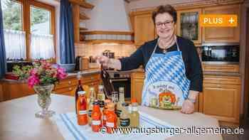 Rosina Heinle weiß, wie das Obst in die Flasche kommt - Augsburger Allgemeine