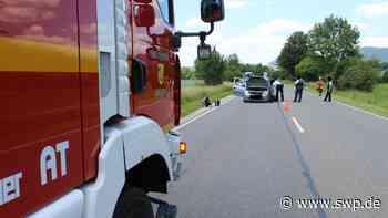 Unfall B28 Polizei: Nach Kollision: Stau auf Bundesstraße zwischen Bad Urach und Metzingen - SWP