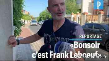 «Bonsoir, c'est Frank Lebœuf !» : candidat à Suresnes, le champion du monde de foot fait du porte-à-porte - Actu Orange