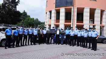 Dalmine, sorveglianza gratuita all'area di sanificazione ambulanze: premiate 19 guardie - Bergamo News - BergamoNews.it