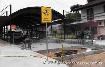 Rua Coberta, de Nova Hartz, já está 88% concluída - Jornal Repercussão