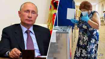 Menschenrechtler schlagen Alarm: Russland stimmt über Putin bis 2036 ab - BILD