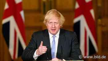 Boris Johnson: Pubs in England dürfen wieder öffnen - BILD