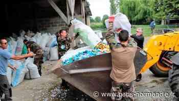 Les gendarmes de Bernay en renfort... pour chargement d'une cargaison au profit de Bouchons 276 ! - Paris-Normandie