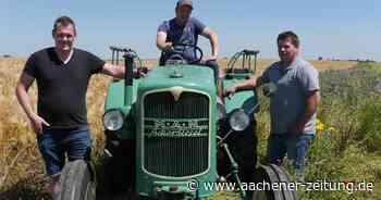Getreideernte im Kreis Heinsberg: Landwirte werben für respektvollen Umgang - Aachener Zeitung