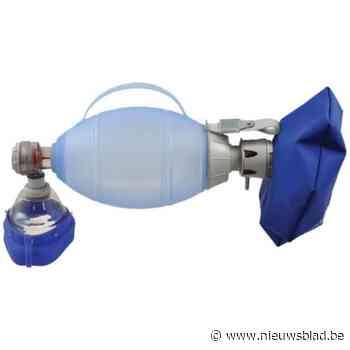 Kustredders mogen dan toch beademingsballonnen gebruiken, zegt minister