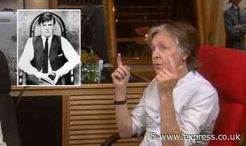 Paul McCartney in emotional moment as he opens up on original Beatle and his tragic death - Express