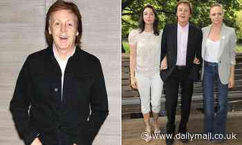 Paul McCartney urges government to make school meals meatless - Daily Mail