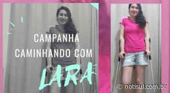Jovem de Capivari precisa amputar parte da perna direita e lança campanha para comprar prótese - Notisul