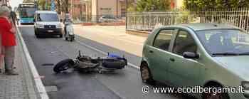 Schianto in moto a Presezzo Grave un uomo di 39 anni - L'Eco di Bergamo