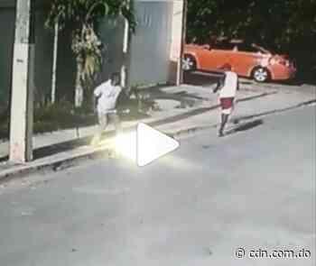 Captado en video agresión a batazos contra un comunidador de Nagua - CDN