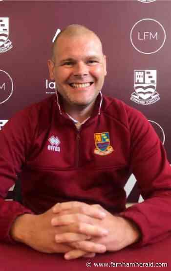 New Farnham Town FC boss: 'Failure simply isn't an option here' - Farnham Herald