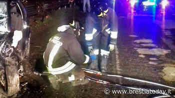 Terribile schianto frontale: feriti 4 giovani, due sono in gravi condizioni - BresciaToday