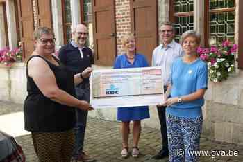 2180 euro voor Kom op tegen Kanker (Ekeren) - Gazet van Antwerpen