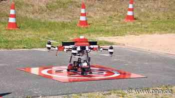 Brandschutz in Beelitz-Heilstätten: Hilfe von oben mit neuer Drohne - Potsdam-Mittelmark - Startseite - Potsdamer Neueste Nachrichten