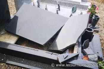 Barentin. Un véhicule utilitaire percute six tombes dans le cimetière - Le Courrier Cauchois