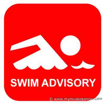 Swim advisory signs posted at Gull Lake - My Muskoka Now