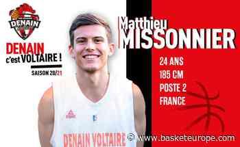 Pro B - Denain: Matthieu Missonier arrive, Pierric Poupet prend sa retraite - BasketEurope.com