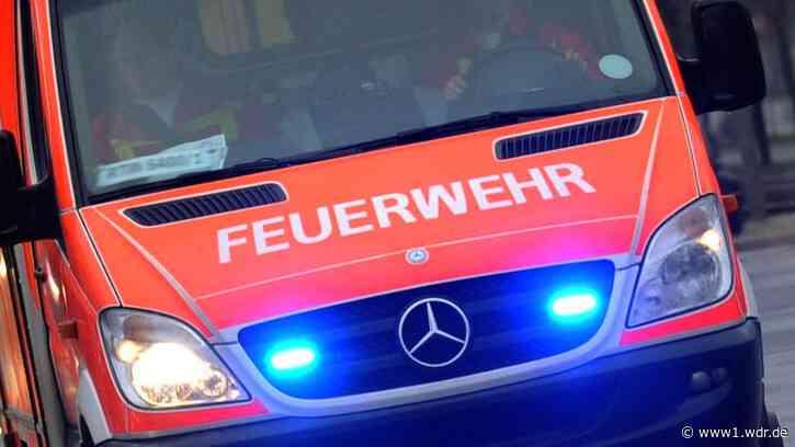Großeinsatz: Brand in Lagerhalle in Sankt Augustin - WDR Nachrichten