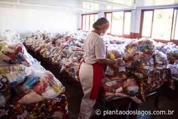 Arraial do Cabo inicia a entrega do terceiro lote de cestas básicas para alunos da rede pública - Plantao dos Lagos