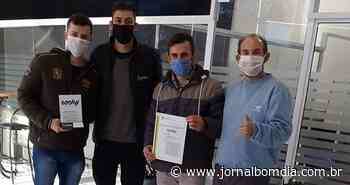 Empresa junto a Incubadora Tecnológica de Erechim recebe certificado de patente com nova marca - Jornal Bom Dia