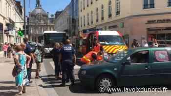 À Tourcoing, une collision entre une trottinette électrique et une voiture - La Voix du Nord
