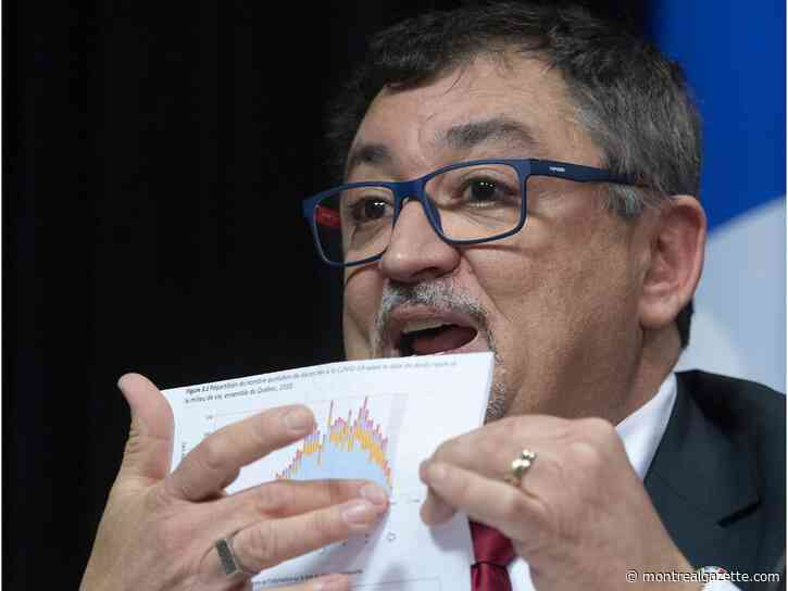 Quebec's decision to end daily COVID-19 updates not a coverup, Arruda says