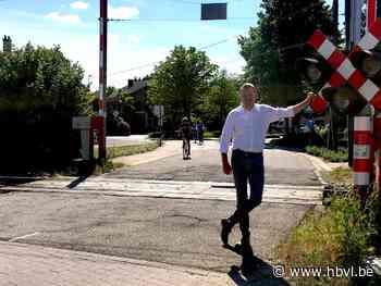 Veiliger fietsen naar basisschool Sint-Joris (Alken) - Het Belang van Limburg Mobile - Het Belang van Limburg