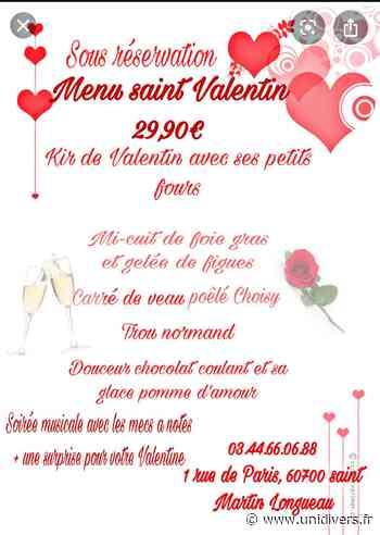 Saint-Valentin au Saint Martin vendredi 14 février 2020 - Unidivers