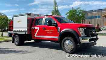 New bush truck help fight wildland fires in Lumby - Vernon News - Castanet.net
