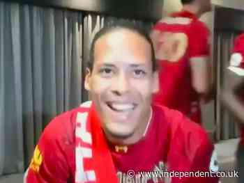 Virgil van Dijk hails Jurgen Klopp's 'one club' approach and squad harmony as Liverpool win Premier League title - The Independent