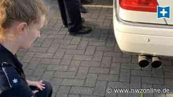 Ärgernis In Nordenham: Polizei zieht Autoposer aus dem Verkehr - Nordwest-Zeitung