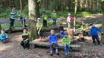 Waldkindergarten Oldershausen bei Northeim startet mit viel Freude nach der Corona-Pause - HNA.de