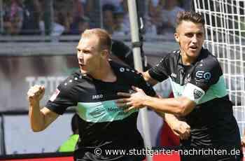 VfB Stuttgart gegen VfL Osnabrück - Holger Badstuber verdrängt Marc Oliver Kempf auf die Bank - Stuttgarter Nachrichten