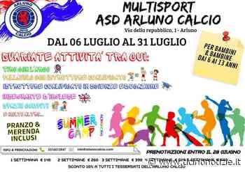 Arluno, torna lo sport: con Asd dal 6 al 31 luglio - Ticino Notizie