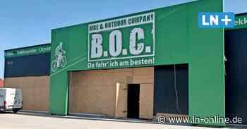 Fahrradunternehmen B.O.C. muss Neueröffnung in Reinfeld verschieben - Lübecker Nachrichten
