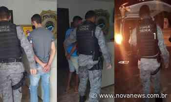 Força Tática do 8º BPM de Nova Andradina cumpre três mandados de prisão - Nova News - Nova News