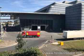 Un gros incendie dans une entreprise de retraitement de déchets - Tendance Ouest