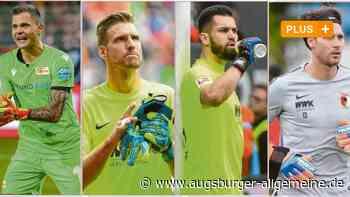 Beim FCA kämpfen vier Torhüter-Kandidaten um eine Position - Augsburger Allgemeine