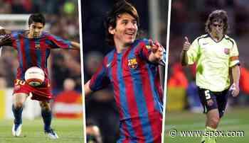 Diashow: Lionel Messi nicht einmal in den Top 10: Das waren die Ratings des FC Barcelona in FIFA 06 - SPOX.com