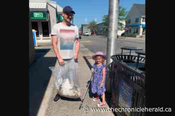 Kentville girl, 5, cleaning up communities one piece of litter at a time - TheChronicleHerald.ca