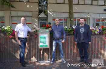 Neuer Erste-Hilfe-Schrank auf dem Marktplatz in Lingen - Grafschafter Nachrichten