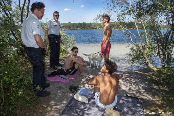 Op stap met preventieploeg voor wildzwemmers in het 'Lake District van Vlaanderen'