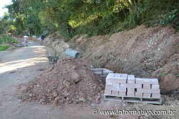 Iniciada drenagem na Rua José de Farias Guimarães Filho em Taquari - Infomativo