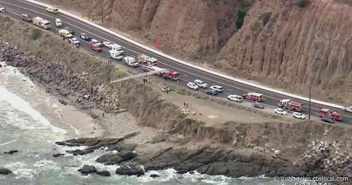 2 Women, 1 Man Dead After Being Swept Off Rock Near Point Mugu