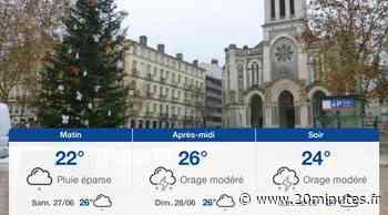 Météo Saint-Etienne: Prévisions du vendredi 26 juin 2020 - 20minutes.fr